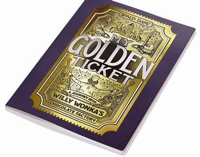 Ticket Golden Willy Chocolate Factory Wonka Wonderbly