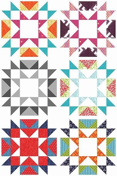 Quilt Blocks Block Star Quilts Quiltmaker Table