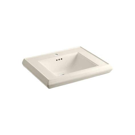 Kohler Memoirs Pedestal Sink 30 Inch by Kohler Memoirs 5 3 8 In Ceramic Pedestal Sink Basin Sink