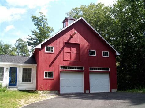 classic cape  barn  garage tony fallon residential commercial architect nh