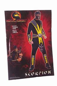 mortal kombat scorpion halloween costume