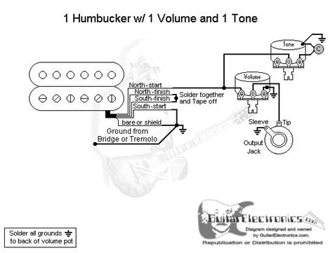 Gibson Humbucker 1 Tone Wiring Diagram Vol by 95 Best Images About Guitar Wiring On Fender