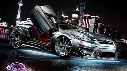 Cars Wallpapers Tuning 3d Tuned Ford Focus
