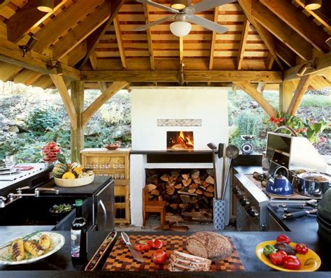 Kitchen Garden Equipments by Wood Fired Pizza Oven Gas Grill Side Burners Charcoal