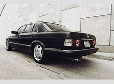 Find used Custom Mercedes Benz W126 420sel black on black