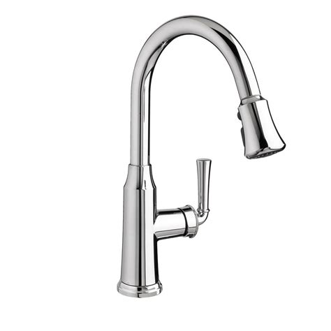standard single handle kitchen faucet standard portsmouth single handle pull