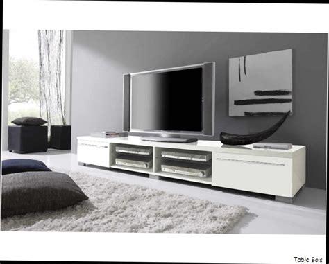 table basse conforama verre meuble tv napia panneaux particules design laque blanc brillant deux
