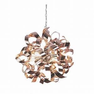 Lustre En Cuivre : lustre en cuivre lustres luminaire projecteur led ~ Teatrodelosmanantiales.com Idées de Décoration