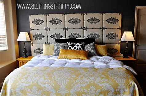 How To Make A Cloth Headboard by Tutorial How To Make A Fabric Headboard