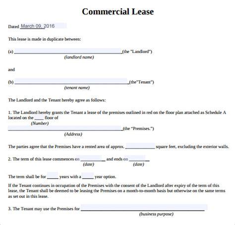 modele bail commercial gratuit commercial real estate lease template