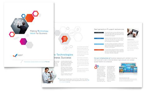 Informational Brochure Templates Free by Free Brochure Templates Ready Made Designs
