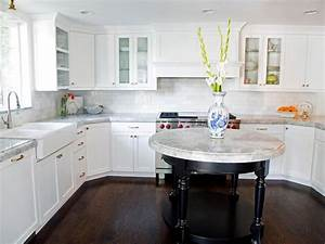 kitchen cabinet design pictures ideas tips from hgtv With kitchen colors with white cabinets with circular wall art