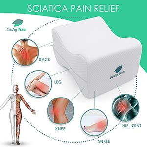 Amazon.com: Knee Pillow for Side Sleepers - Sciatic Nerve