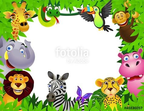 Animal Frame Wallpaper - quot safari animal quot stock image and royalty free