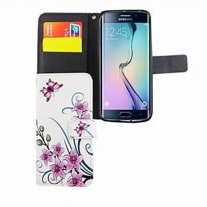 Handyhülle Galaxy S6 : handyh lle tasche f r handy samsung galaxy s6 edge lotusblume ~ Jslefanu.com Haus und Dekorationen