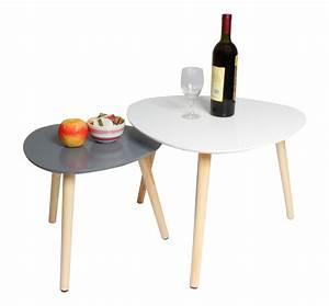 Couchtisch Weiß Grau : 2er set couchtisch beistelltisch wei grau t194 h c m bel ~ Whattoseeinmadrid.com Haus und Dekorationen
