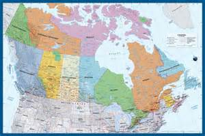 Large Canada Map