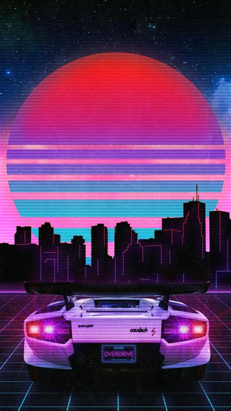 80s Neon Car Wallpaper by Pin By Lilintr0vert On Aesthetic Wallpaper