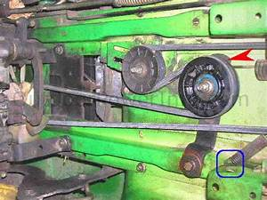 Download John Deere Stx38 Drive Belt Installation