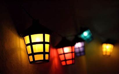 Wallpapers Lantern Colorful Mood