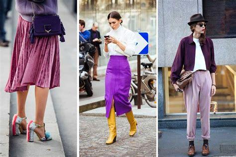 canapé violet colore pantone 2018 ultra violet idee moda up e
