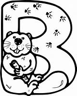 Letter Coloring Beaver Pages Printable Beavers Angry Drawing Alphabet Baby Colouring Roadrunner Letters Abc Sheets Supercoloring English Drawings Getdrawings Cohen sketch template