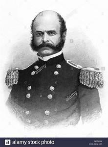 1800s 1860s PORTRAIT AMBROSE BURNSIDE GENERAL UNION ARMY ...