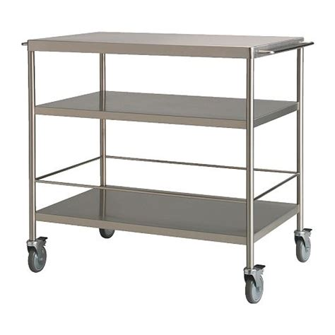 kitchen trolleys and islands flytta kitchen trolley ikea