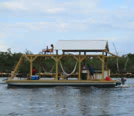 Floating Pontoon Boat Bar