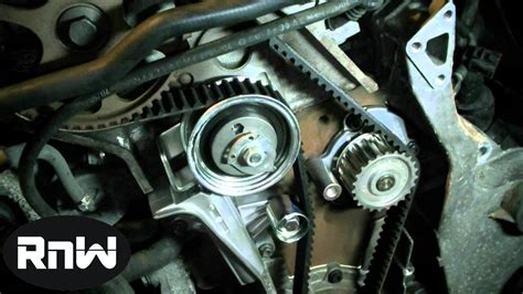 replace  timing belt    vw passat audi