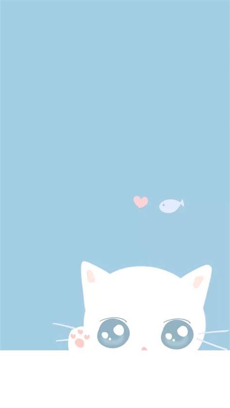 Sparkle blue, phone wallpaper, background, lock screen. crazy cute wallpapers : Photo | Iphone wallpaper cat, Cute blue wallpaper, Cute wallpaper for phone