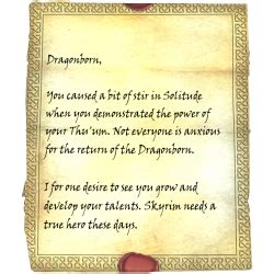 skyrim letter from a friend letter from a friend skyrim wiki 48910