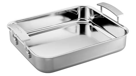 demeyere industry stainless steel roasting pan  cutlery