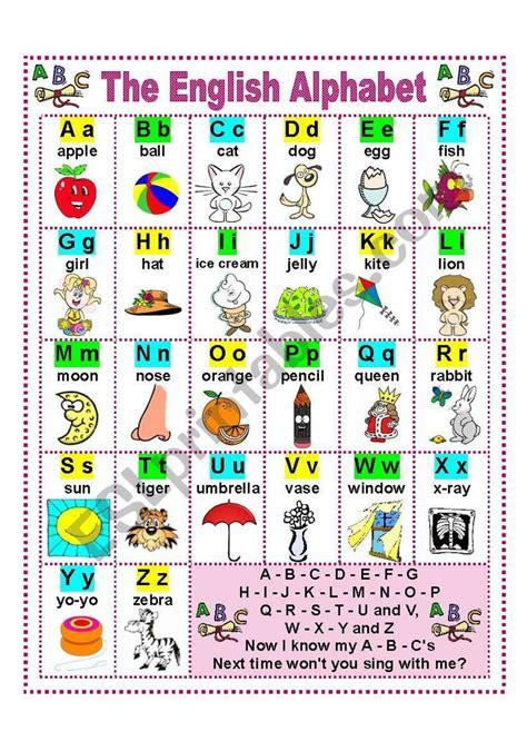 english alphabet worksheet learn english alphabet