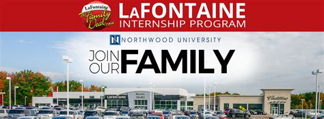 Lafontaine Automotive Group Internship Program  Family Deal