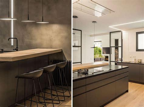 Küche Anthrazit Holz by Helles Holz Und Anthrazitgrau Schaffen Gem 252 Tliche Kontraste