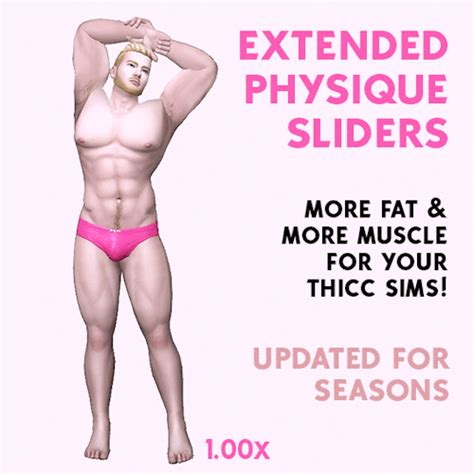 simshenkos physique slider sweet sims  finds