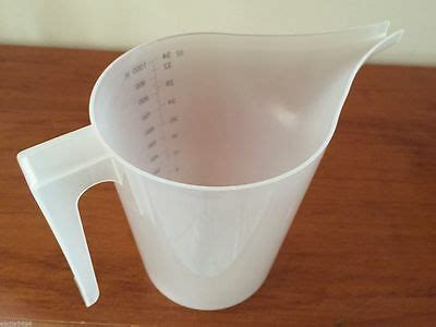 plastic measuring pouring jug candle soap making