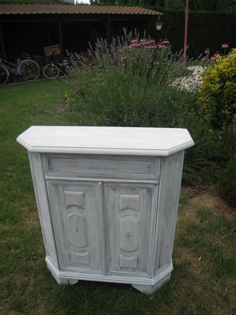 un petit meuble d entr 233 e relook 233 patines couleurs
