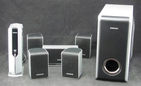 Samsung 5.1 Speaker Set & Subwoofer Ps-wp38 With Wireless