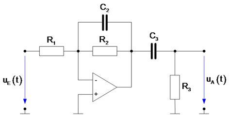 systemtheorie  operationsverstaerker mit rc beschaltung