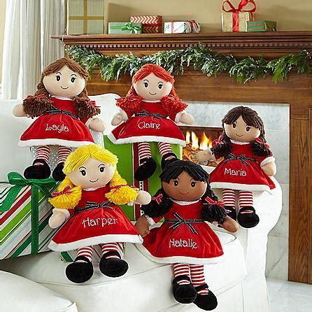 christmas personalized rag dolls christmas gifts