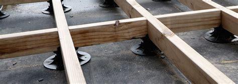floating concrete deck footings floating deck waterproof membrane