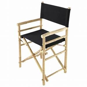 Fauteuil De Jardin Maison Du Monde : fauteuil de jardin bambou noir robinson maisons du monde ~ Premium-room.com Idées de Décoration
