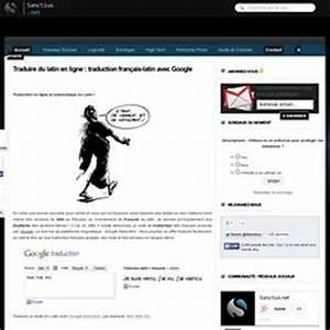 Traduction Francais Latin Gratuit Google : latin pearltrees ~ Medecine-chirurgie-esthetiques.com Avis de Voitures
