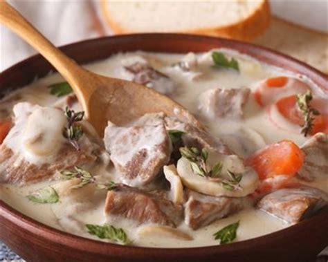 recettes de cuisine anciennes recette blanquette de veau à l 39 ancienne