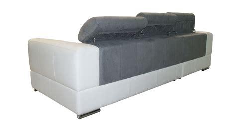 canape convertible 2places menton angle méridienne bi matière personnalisable sur