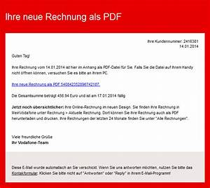 Vodafone Rechnung Email : ber hmt service rechnungsvorlage pdf fotos ~ Themetempest.com Abrechnung