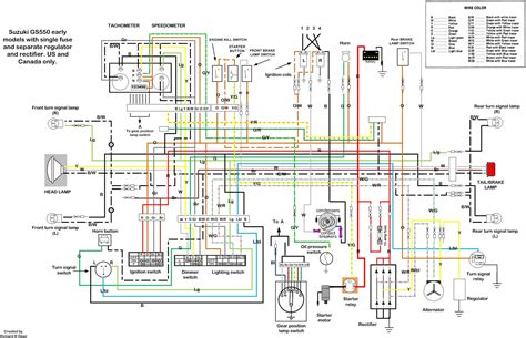 suzuki motorcycle electrical diagrams best site wiring