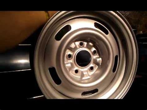 dupli color rally wheel paint 15 x 7 chevy rally wheel wheel resto dupli color paint